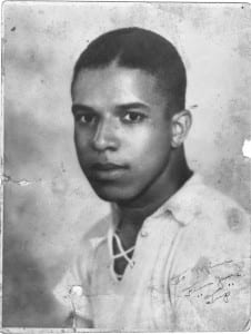 """Alfred """"Tup"""" Holmes Senior photo. Courtesy of the Holmes Family Archive."""