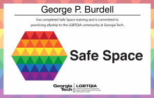 Safe Space Training card