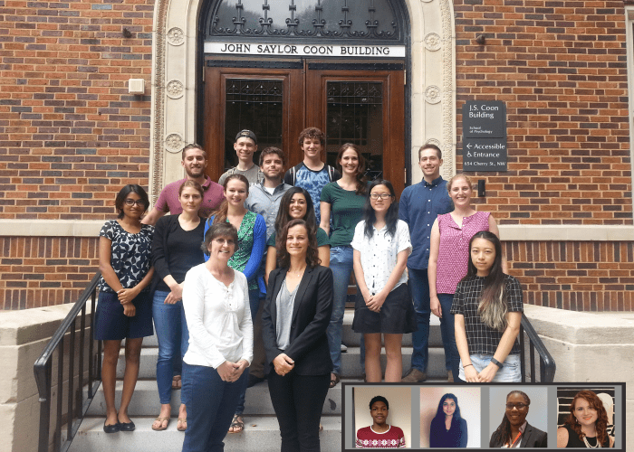 Human Factors and Aging Lab Members from 2015