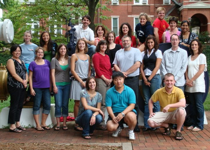 Human Factors and Aging Lab Members from 2008