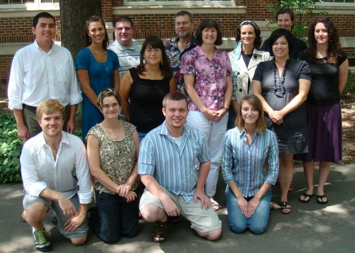 Human Factors and Aging Lab Members from 2009