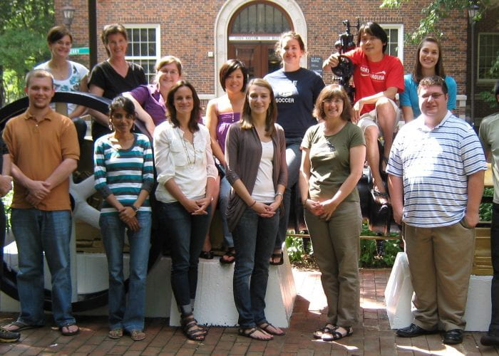 Human Factors and Aging Lab Members from 2010