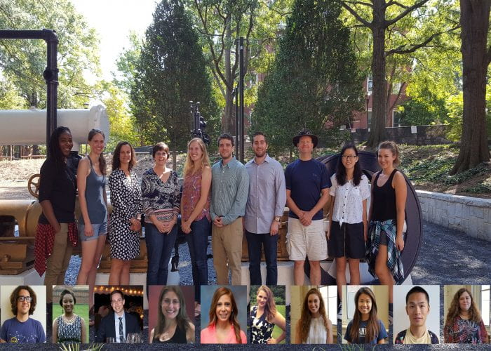 Human Factors and Aging Lab Members from 2016