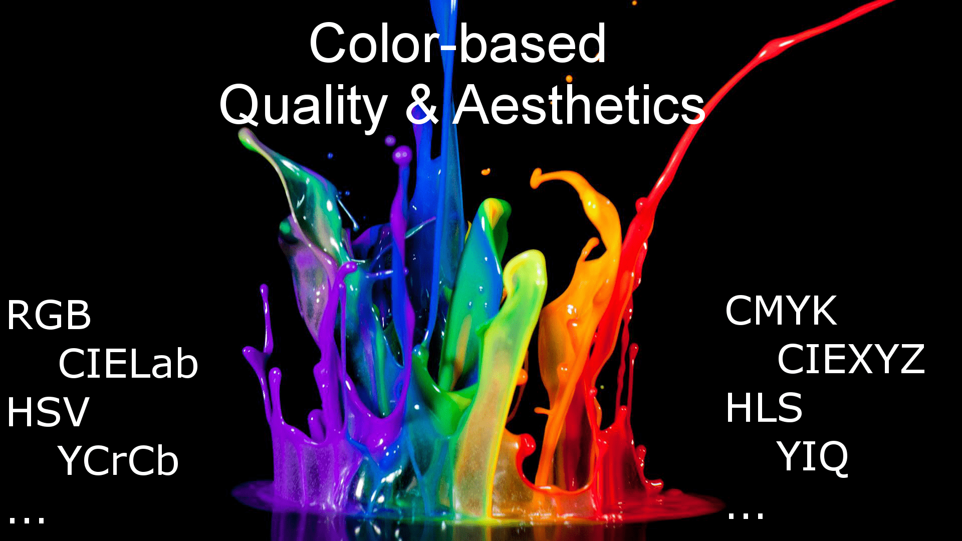 Color-based Quality and Aesthetics Assesment and Enhancement
