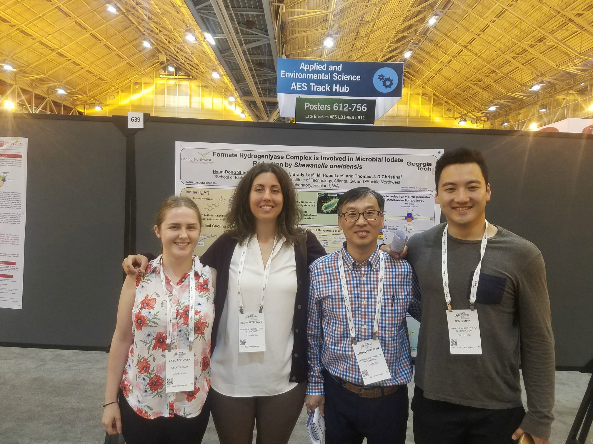 Congratulations to the whole lab on their posters/presentations at ASM Microbe 2017!