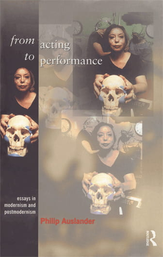 from acting to performance book cover