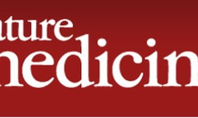 Look for our paper in NatureMedicine