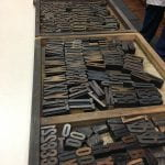 Setting Type at the GT Paper Museum