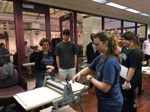 Printmaking at the Paper Museum