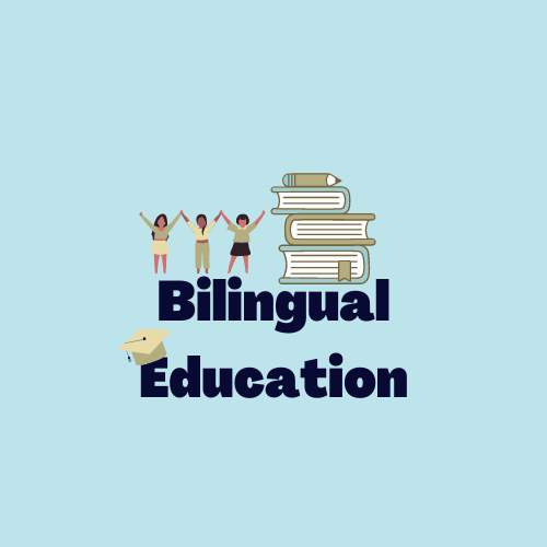Book over the words Bilingual Education