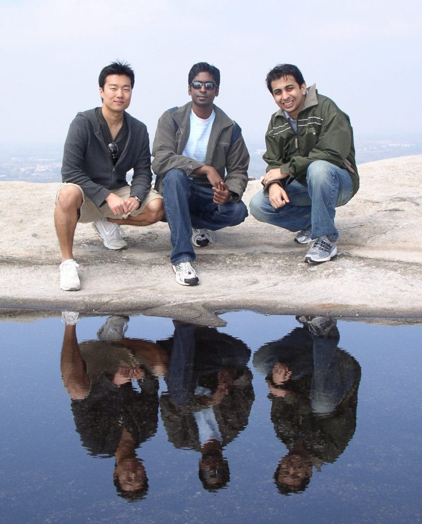 Figure 9. From left to right: Yong Jun Chang, Steve James William, and Vivek Agate.