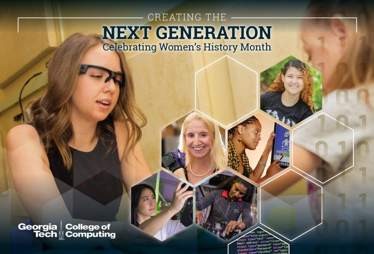 Creating the Next Generation - Celebrating Women's History Month