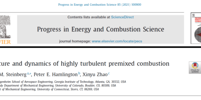 Progress in Energy and Combustion Science Article