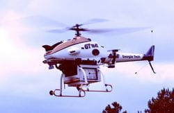 GTMax unmanned research helicopter